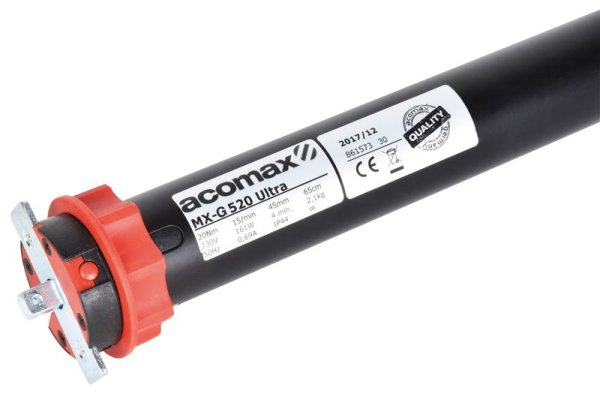 MX-G 520 Ultra acomax Antrieb Rohrmotor Gleichstrom 20 Nm SW60