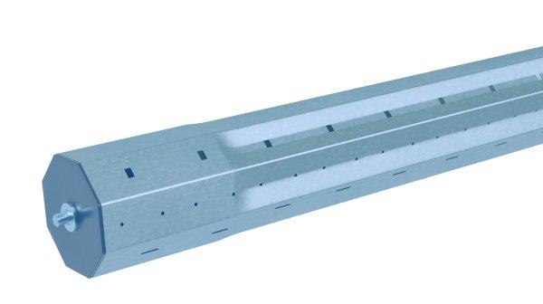 ZX-W 360 Achsträger 60 mm, 0,5m, Stift 12 mm Metall acomax