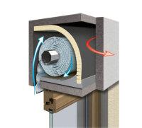 Rollladen-Dämmung 13 mm 1000 x 790, (10er Pack) B+H