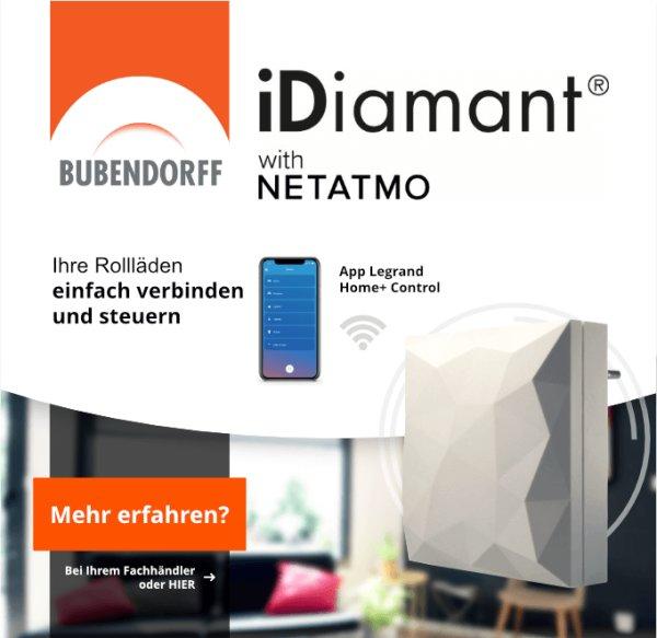 iDiamant mit Netatmo Bubendorff FP12